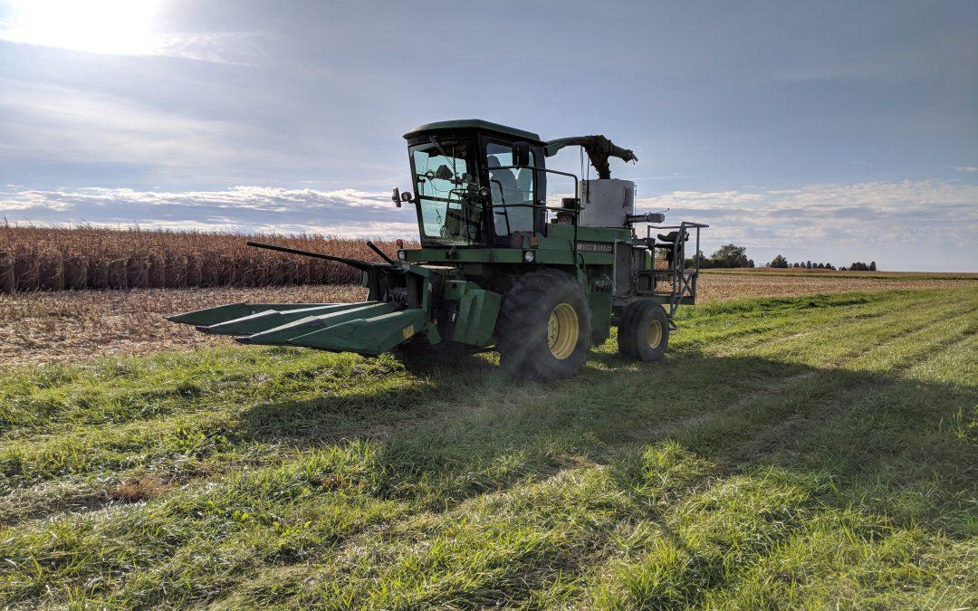 Harvesting Bioenergy Crops