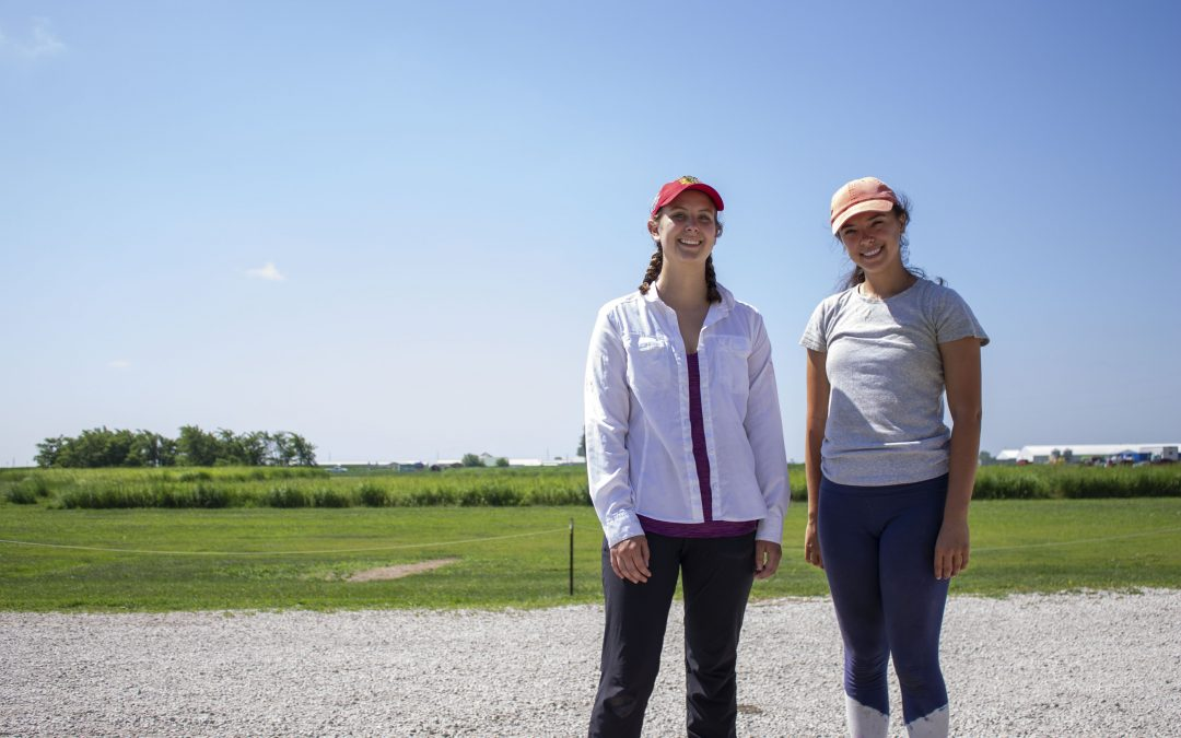Getting to the Root: Finzi Lab Team at the Illinois Energy Farm