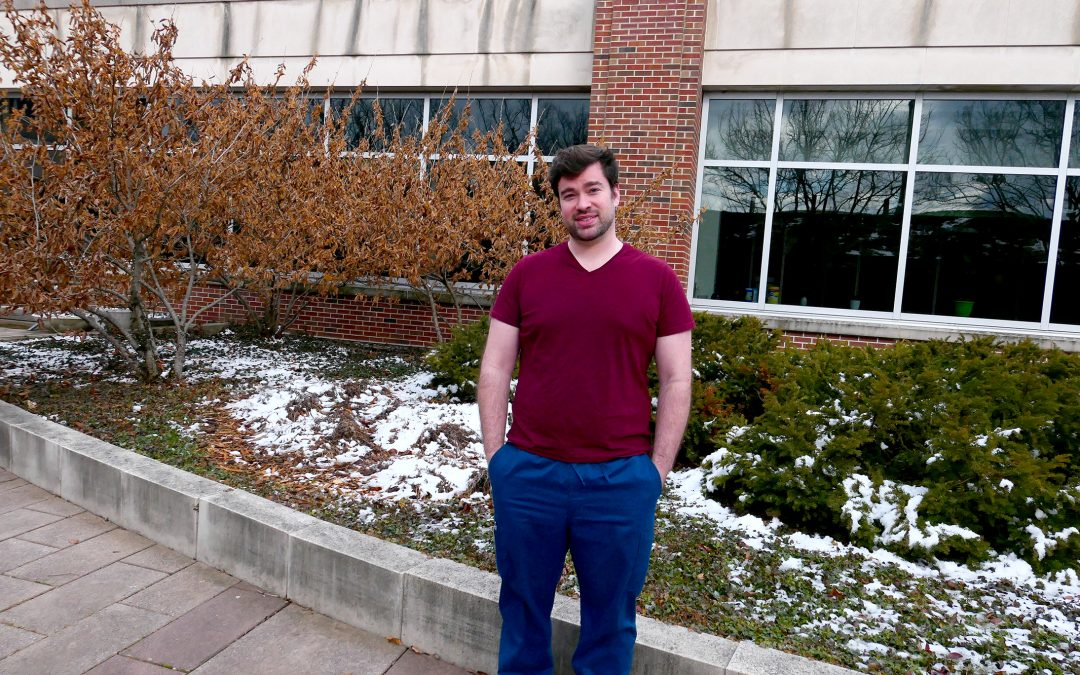 Postdoc Matthew Waugh: One of CABBI's 'Molecular Mechanics'